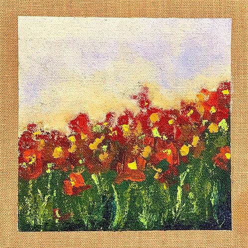 """Field Of Flowers 12""""x12"""""""