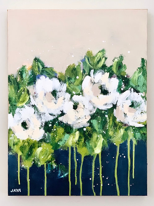 """Flowers All The Way 18""""x24"""""""
