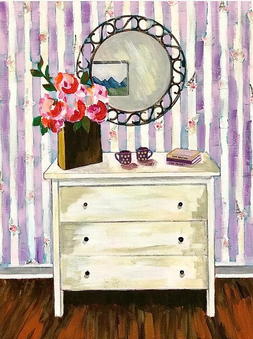 """My Daughter's Bedroom 16""""x20"""""""