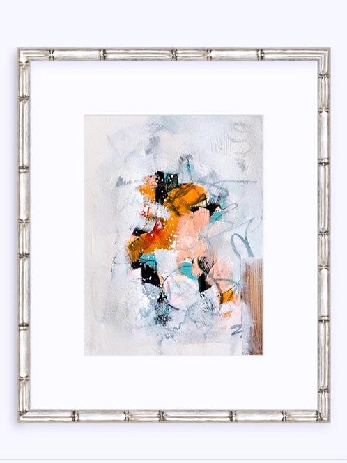 Peach Abstract II