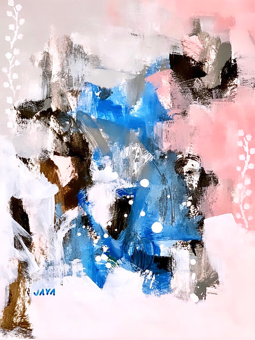 """""""Blue Waters and Pink Sand I"""", 8""""x10"""""""