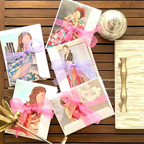 Indian Brides notecards