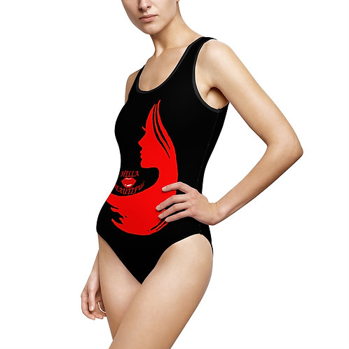 Hella Beautiful Women's Classic One-Piece Swimsuit