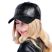 FLB-Cool-new-fashion-PU-black-Baseball-C