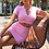 Thumbnail: FSDA 2021 Summer Knit Crop Top v Neck Short Sleeve and Mini Bodycon Skirt