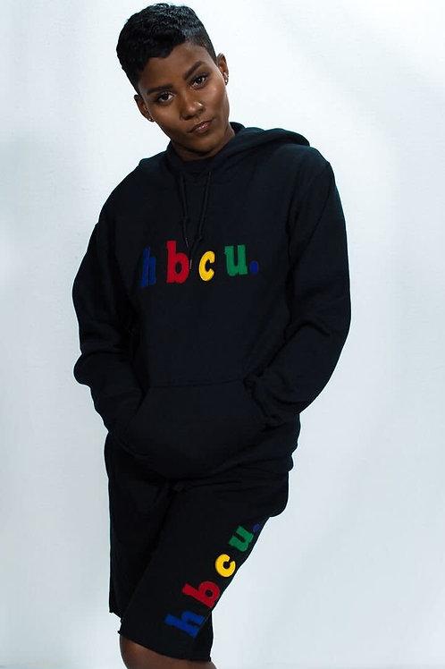 hbcu. Black Multi Color Hoodie
