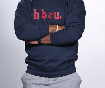 hbcu. Navy Sweatshirt