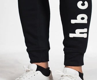 hbcu. Black & White Joggers