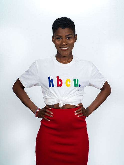 hbcu. White T-Shirt