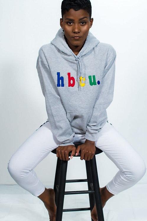 hbcu. Grey Multi Color Hoodie