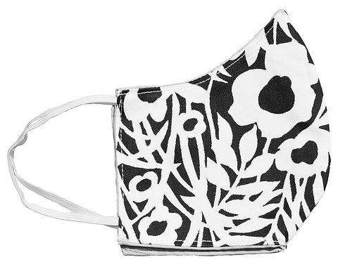 Meadow - Vintage print Cotton Face Mask