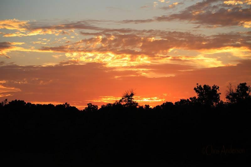 September sunsets