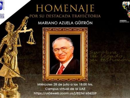 Mexicano ejemplar es homenajeado en la UAE