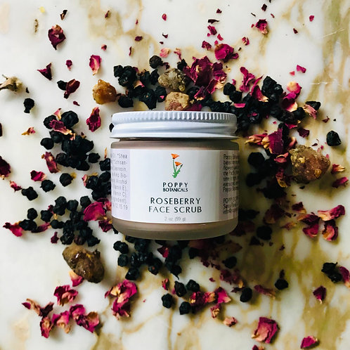Roseberry Face Scrub