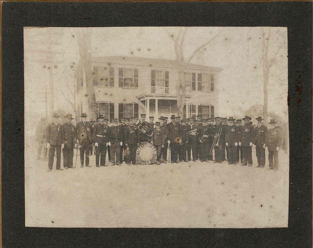 Mattapooisett Cornet Band and Grand Army 1906
