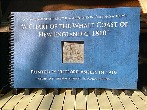 A Chart Of The Whale Coast Of New England