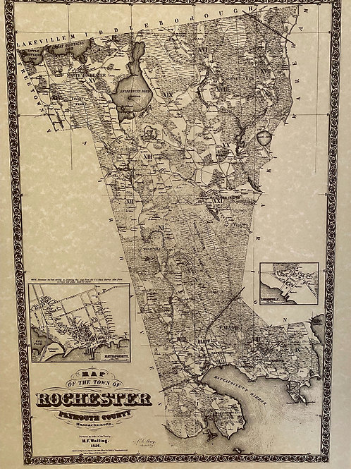 Map of Old Rochester