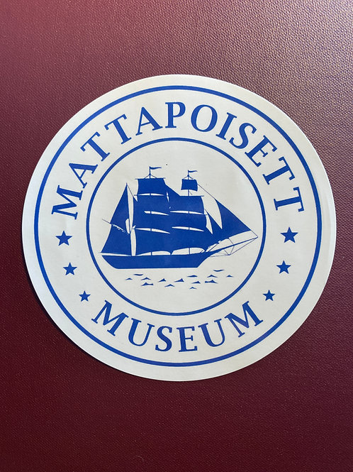 Mattapoisett Museum Decal