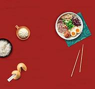 refeição asiática