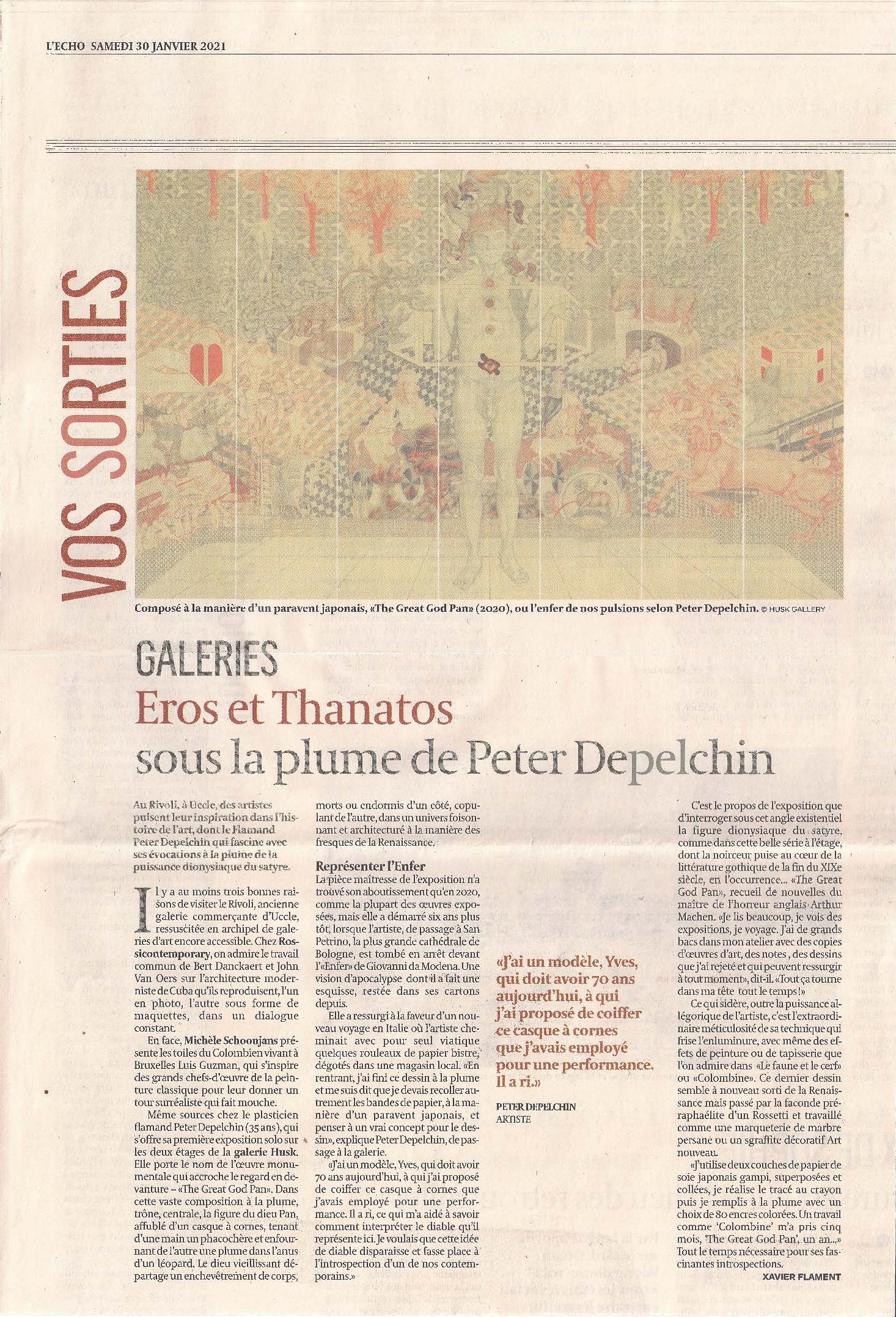L'Echo_31/01/21_Xavier Flament