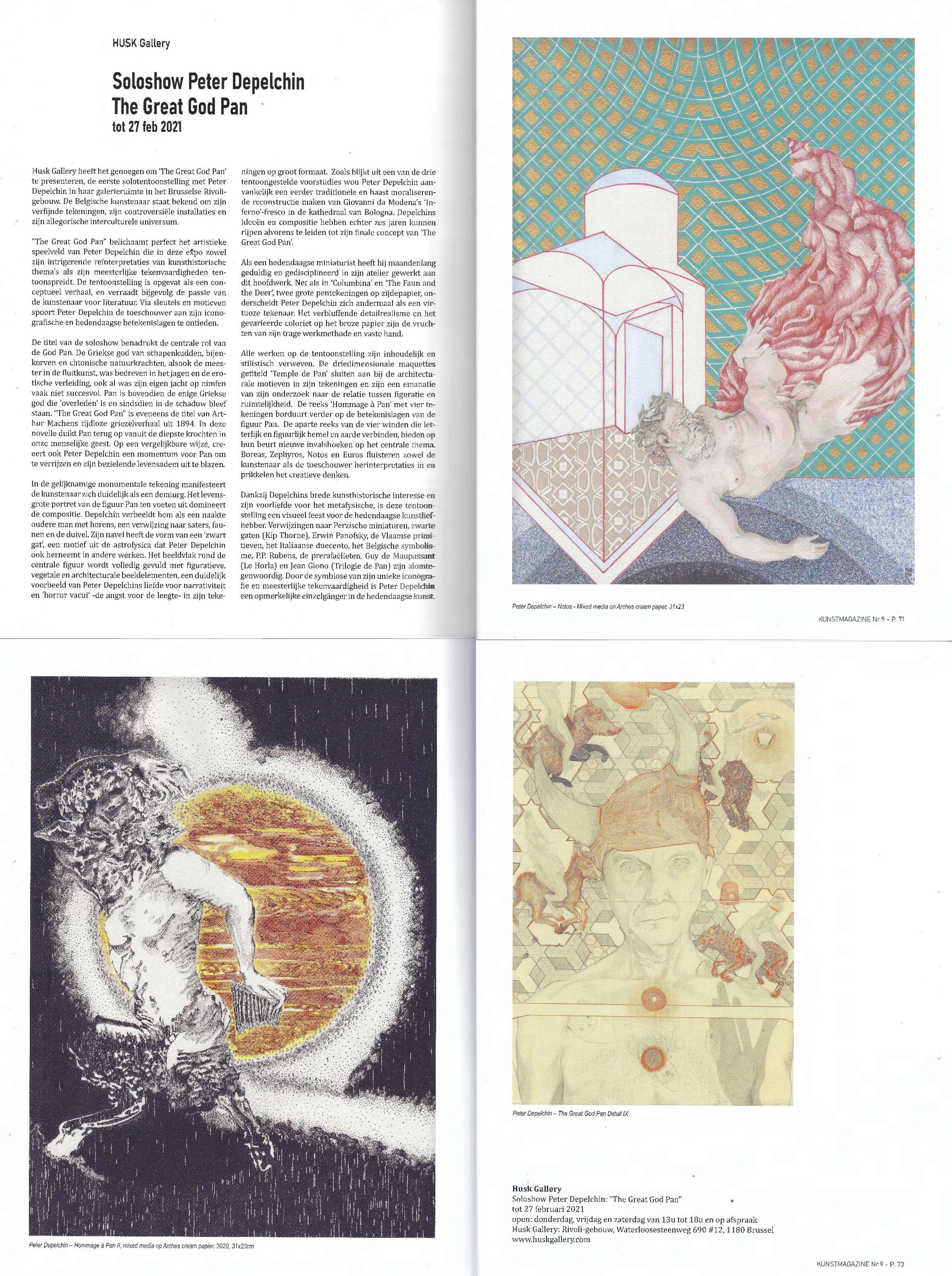 Kunstmagazine Januari-Februari 2021