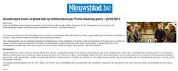 Article Nieuwsblad
