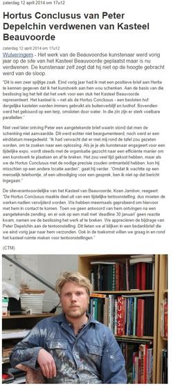 Article Hortus Conclusus