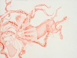 Rakhsh fights the Octopus
