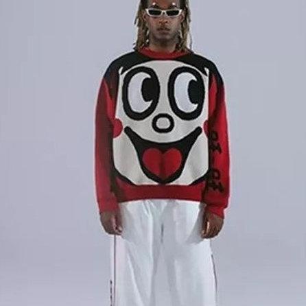 TYAKASHA X WangWang | Logo Sweater