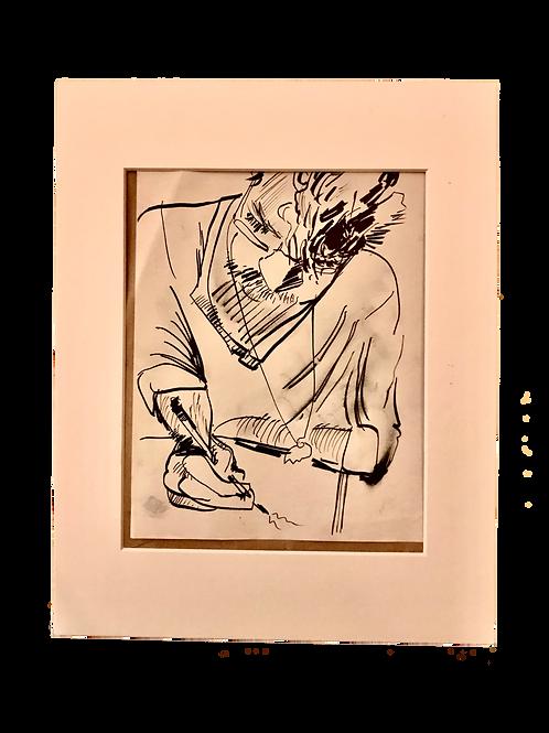 Friend, Drawing