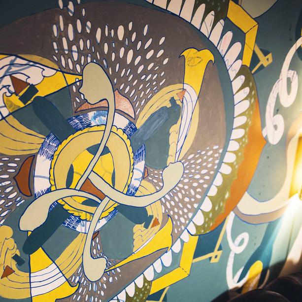 Mandala Wall