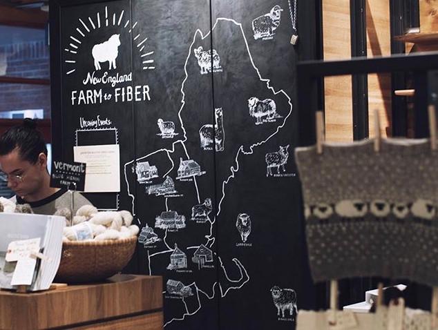 New England Farm to Fiber
