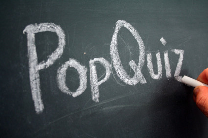 The Dreaded Pop Quiz II