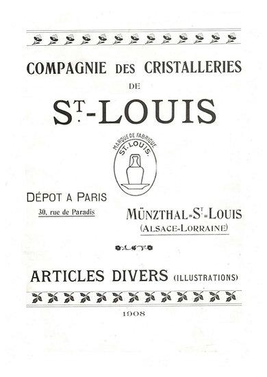 サン・ルイ社1908年カタログ(PDF)