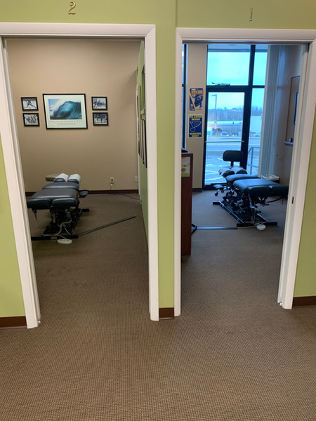 Adjusting Rooms 1 & 2.