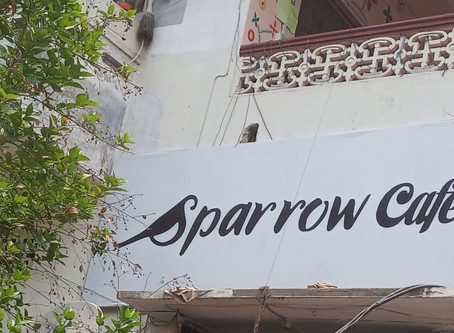 Lunch at Sparrow Café