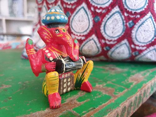Ganesha van hout