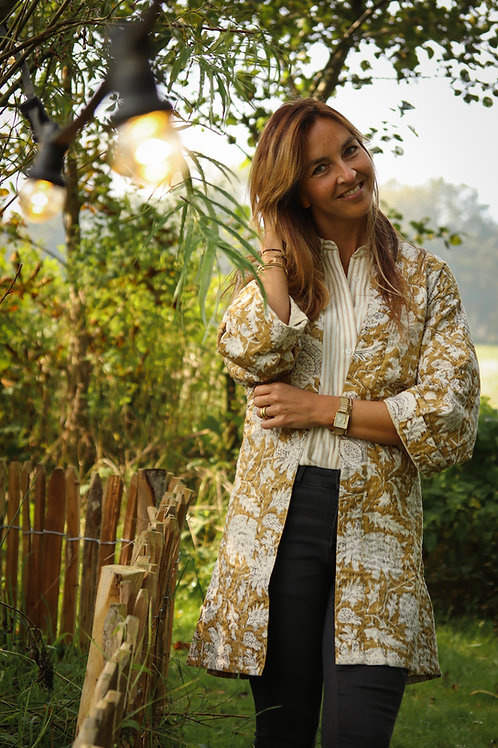 Kantha Kimono Amber
