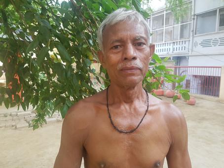 Meet Siyaram, a wrestler