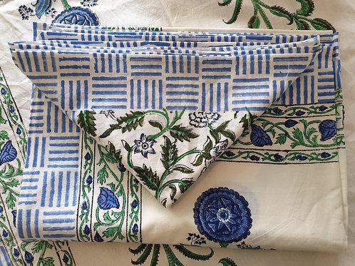 Tafelkleed Jodhpur 6 persoons (incl. 6 servetten)