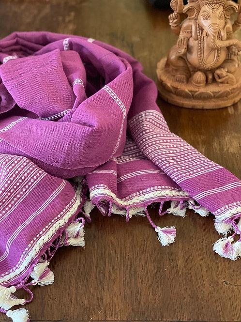 Sjaal Gujarat Pretty in Pink