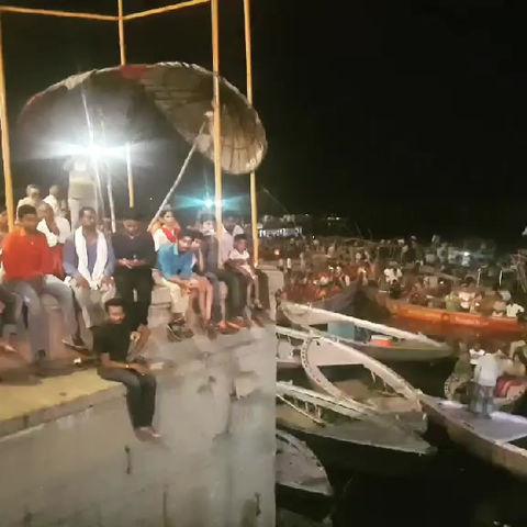Evening Aarti in Varanasi