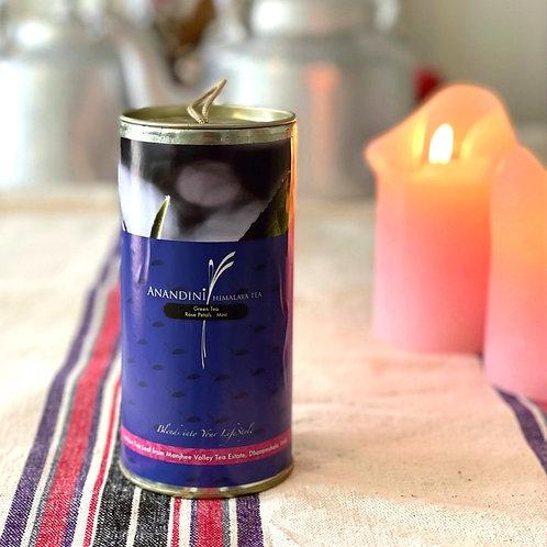 Rose Petal & Mint - groene thee