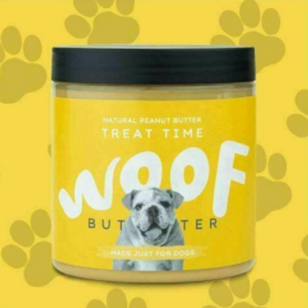 WOOF Natural Peanut Butter Treats Time
