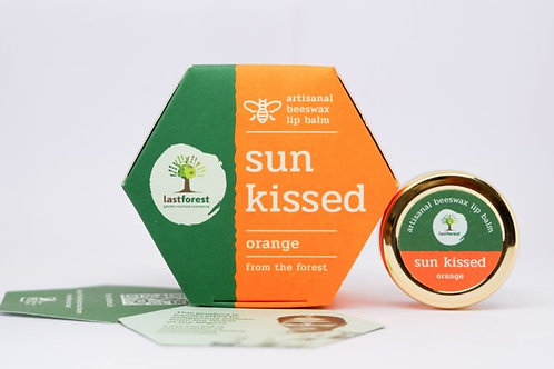 Last Forest Beeswax Lip Balm Sun Kissed - Orange