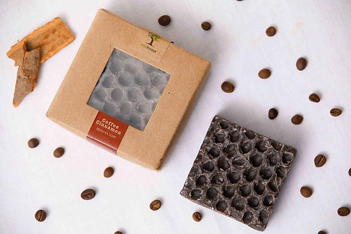 Last Forest Edge Beeswax Soap - Coffee & Cinnamon