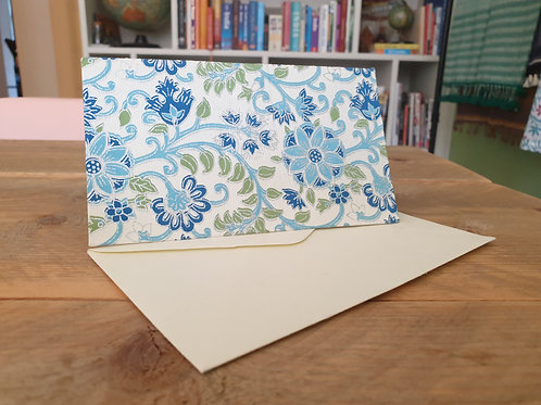 Kaarten Windflower Tropical Blue