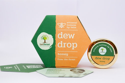 Last Forest Beeswax Lip Balm Dw Drop - Honey