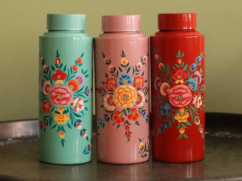Handbeschilderde Fles
