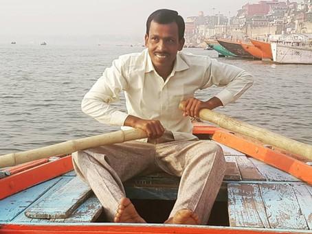 I love Varanasi! says Babu